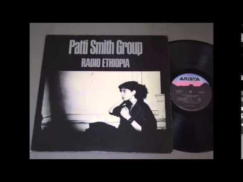 Patti Smith - Radio Ethiopia, full LP (1976)
