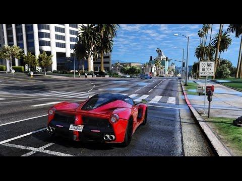 ► GTA 6 Graphics - LaFerrari! ✪ M.V.G.A. - Gameplay! 2017 Realistic Graphics MOD 60FPS