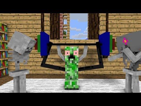 Monster School: POWER!!! - Minecraft animation
