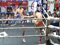 Muay Thai Knock Out - HUGE KNEE, BODY KICK K.O.