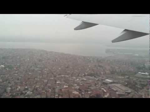 Ataturk havalimani ucak kalkis
