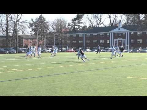 Penn Charter vs McDonogh School 3.19.13  2:41 2nd Qtr - score at 1:13 by McD #18!!