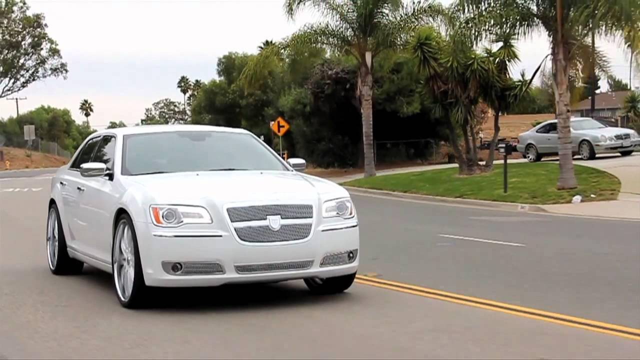 New 2012 Chrysler 300 On Some Nice 24 Quot Asanti Wheels Youtube