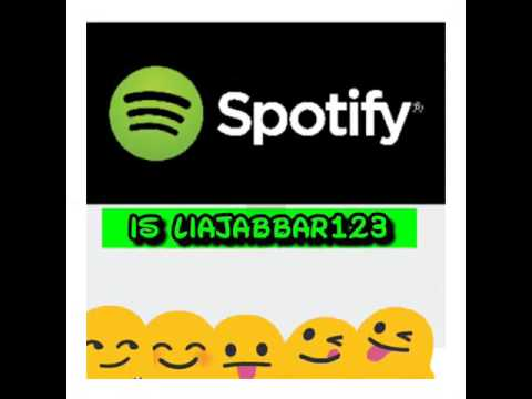 How to use spotify and my username