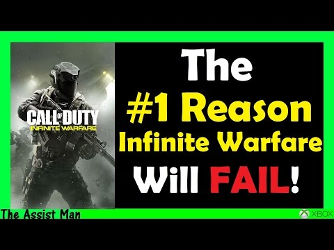 The #1 Reason Why Call Of Duty Infinite Warfare Will FAIL - Big Youtubers Hate It! - GamePlay