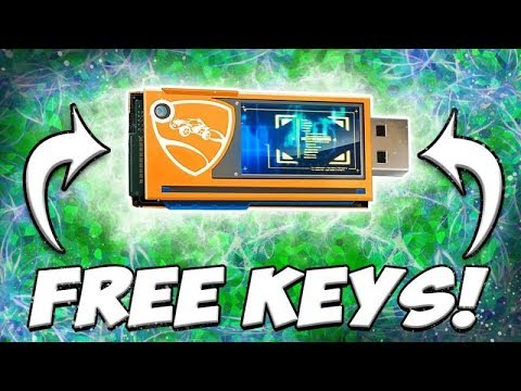 *NEW* HOW TO GET FREE KEYS (Decryptor Keys) IN ROCKET LEAGUE!!