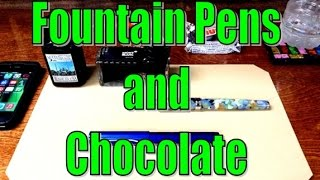 Fountain Pens and Chocolate - ASMR