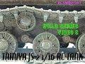 Tamiya JS-2 1/16 RC Tank Build Series Video 9