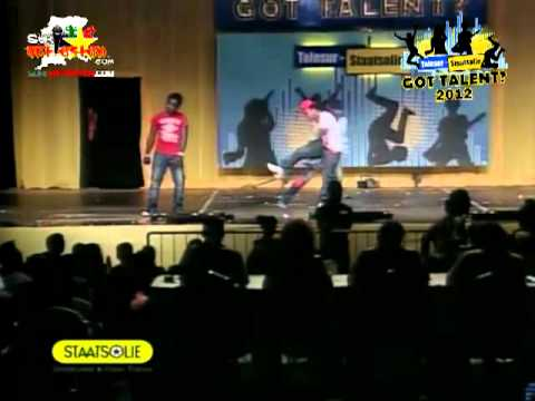 King Koyeba, Badderman - Closings Act Teleg staatsolie Got Talent? Suriname video