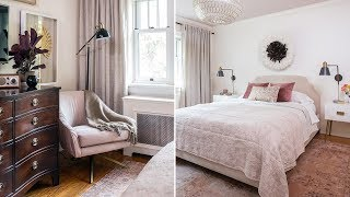 Bedroom Makeover: From Boring Blue to Pretty in Pink