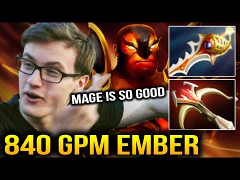 Miracle- Rapier Ember Spirit ft MagE- INSANE SF Dota 2 7.07c