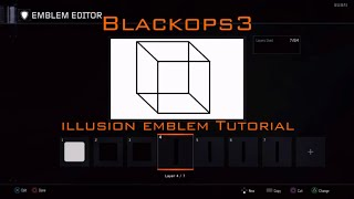 Callofduty Blackops3 illusion emblem tutorial