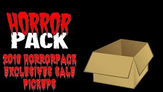 Great Buys - Horror Pack 2018 Exclusives Sale
