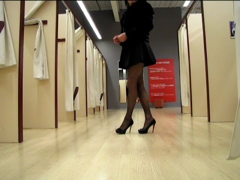 High Heels And Dresses For The New Year   Transvestite   Crossdresser
