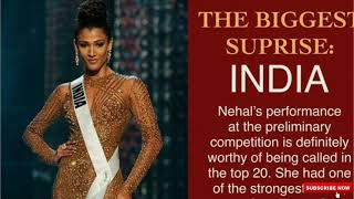Shocking Reaction, on India's Unplacement at Miss Universe 2018!!