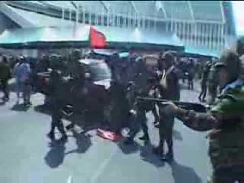 Bangkok (Thaïlande) 10/04/2010 Army dislodged the Red Shirts © LTL News