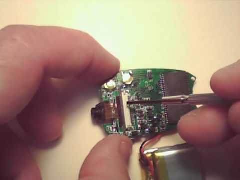 Tear-down of 808 Car Keys Micro Camera (8GB)