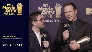Chris Pratt on Winning Generation Award | 2018 MTV Movie & TV Awards
