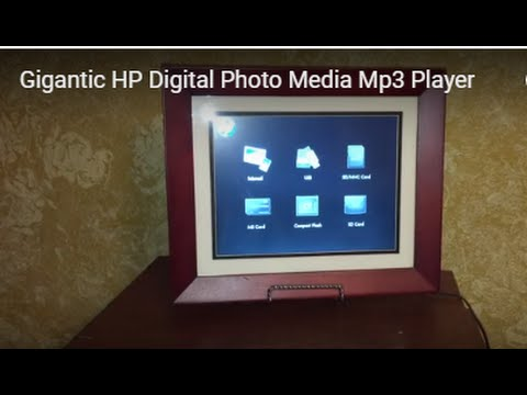 Big Screen HP Digital Photo Media Mp3 Player