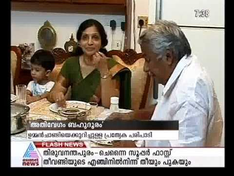 oommen chandy @ 40 - Asianet Part 1