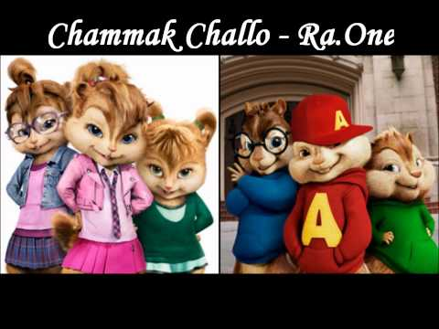 Chammak Challo - Full Song (Chipmunk Version) HD