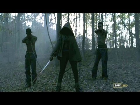 The Walking Dead - Who is Michonne? - Season 3 Character Spotlight