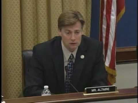 Altmire Questions Treasury Secretary Timothy Geithner