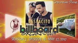 Billboard BREAKDOWN - Hot 100 - May 27, 2017