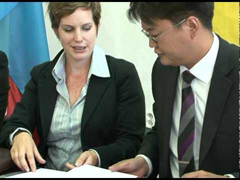Oxford Business Group - Mongolia - MOU signing