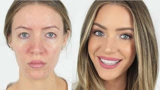 5 Minute FULL FACE Makeup Routine | STEPHANIE LANGE