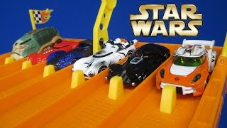 DHR Star Wars May The 4th Be With You   Hot Wheels Star Wars Character Cars