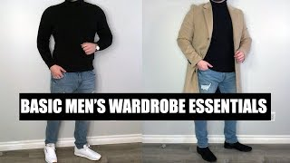 10 Basic Men's Wardrobe Essentials Every Guy Should Own | Men's Essentials Clothing 2019