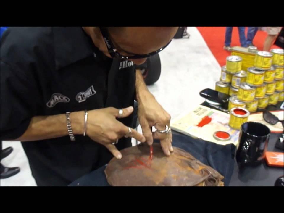 Master Pinstriper Von Hot Rod Old School Pinstriping