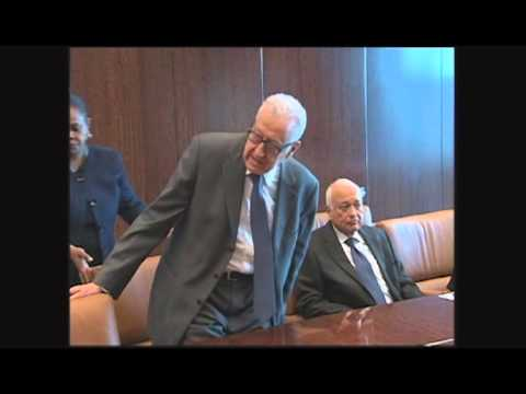 Brahimi meeting in NYC 22April13