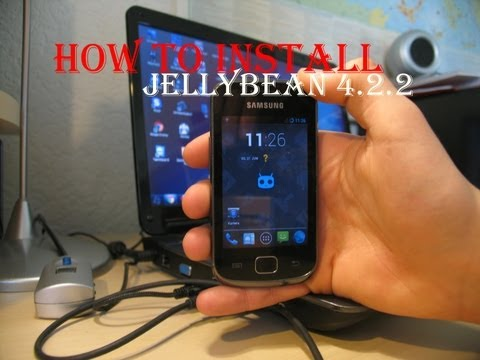 How to install Jellybean 4.2.2 (CyanogenMod 10.1) 20130623 on Galaxy Gio itemprop=