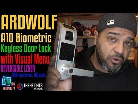 Ardwolf A10 Biometric Keyless Door Lock 🚪 🔐 : LGTV Review