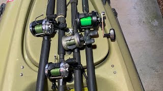 Kayak Catfishing Gear   My Rods, Reels, and Tackle Explained