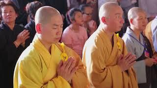 Vietnam Chua Phat Hien Grand Sangha Dana 2018 in 7 minutes