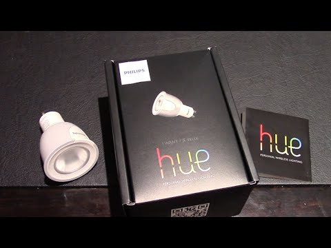 Unboxing The Phillips Hue 6.5W GU10 Add On Smart LED Bulb