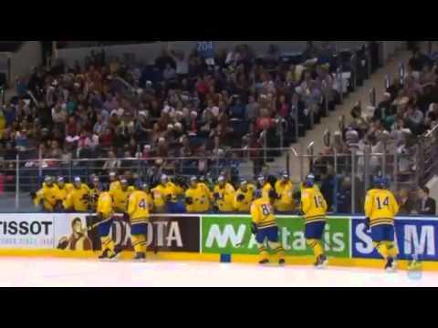 Италия 1:5 Швеция Чемпионат мира по хоккею 2014