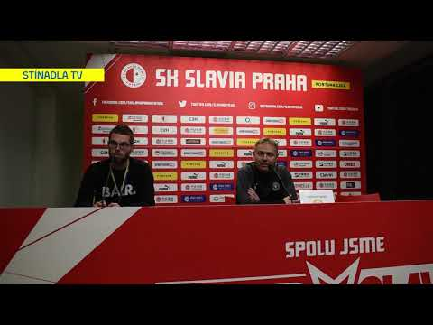 Tisková konference po utkání na Slavii (10.11.2019)