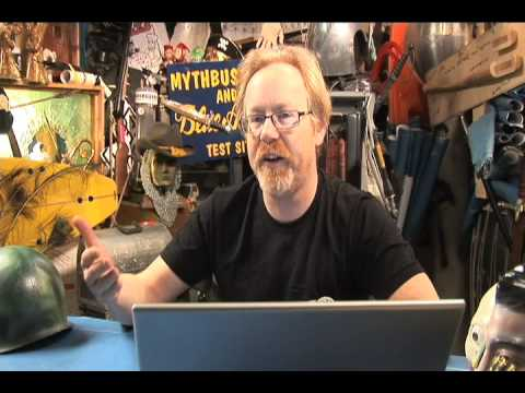 Adam Savage From Mythbusters Interviewed by reddit.com - Part 1 of 3