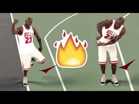 MICHAEL JORDAN HIT DEM FOLKS (DANCE VIDEO) NBA2K17