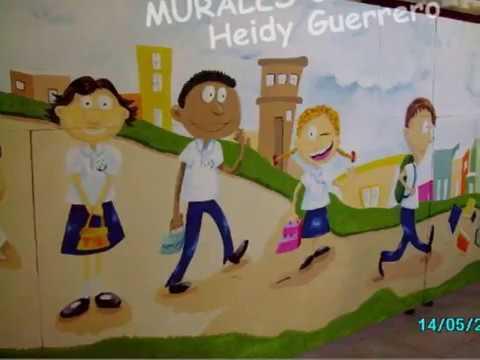 MURALES CREATIVOS. Heidy Guerrero 1