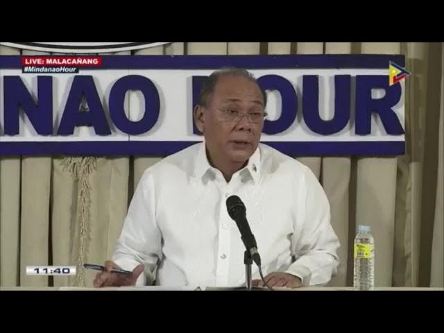 Palace on Thursday's mass actions