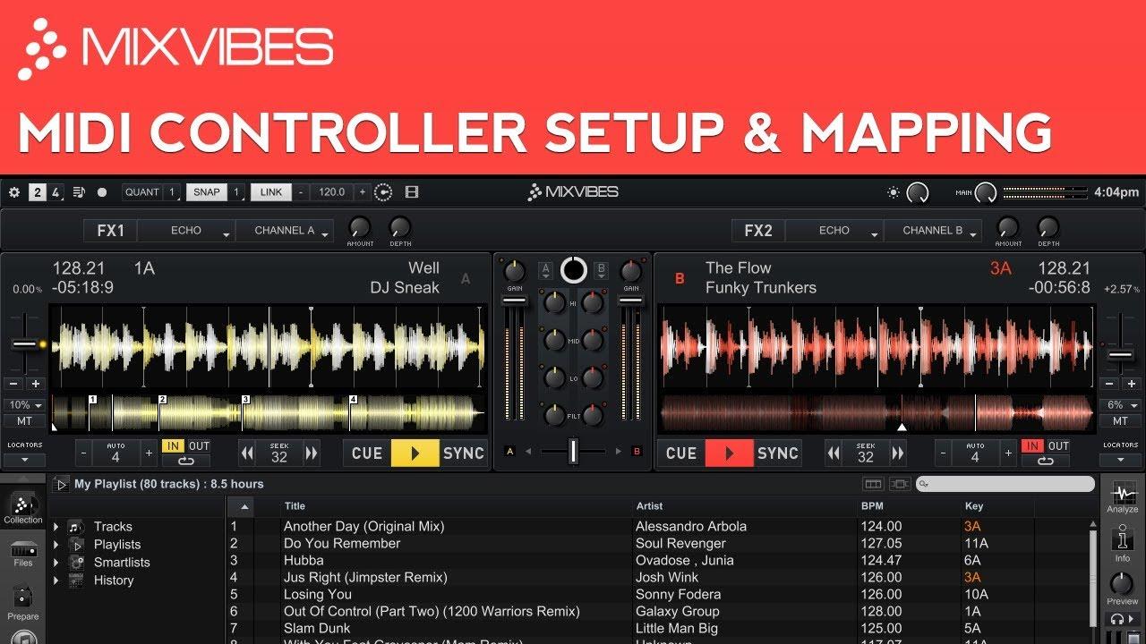 Cross DJ 2 Tutorial: MIDI Controller Setup & MIDI Mapping - YouTube