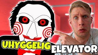 MEGA UHYGGELIG ELEVATOR! - Dansk Roblox: [JIGSAW] The Scary Elevator!