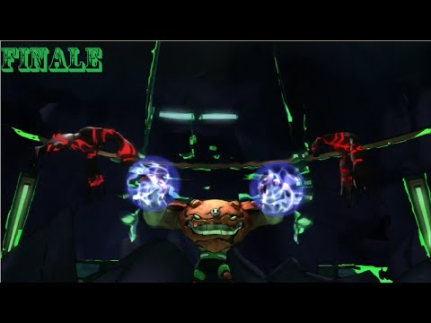 Ben 10 Omniverse - PS3 - Walkthrough Part 20 - Two Malwares... No Waiting (FINALE)