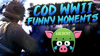 Call of Duty WW2 Funny Moments - The Care Package Legend & Wildcat Roast!