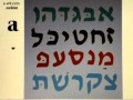 Hebrew Vowels - Patach - Ah sound